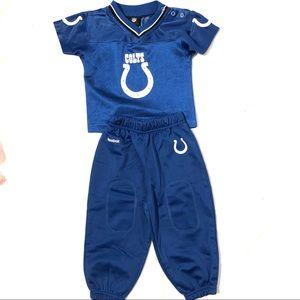 Colt's Baby Boy Reebok Jersey and matching pants